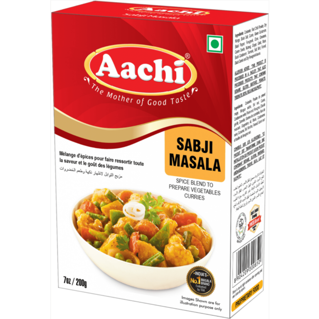 Aachi Masala Sabji Masala (kruidenmix voor groenten)