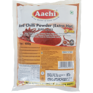 Aachi Masala Red Chilli Powder Extra Hot (rode chili poeder)