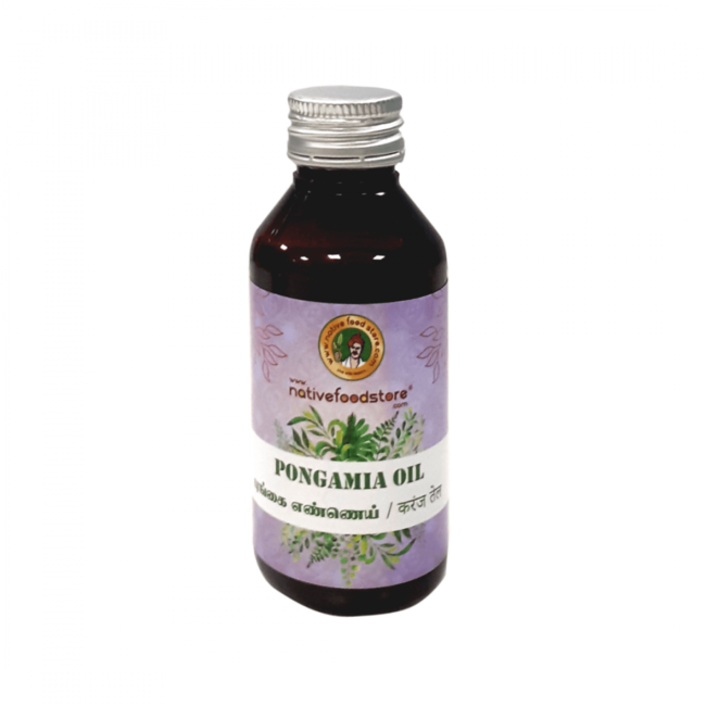 Native Food Pongamia Oil, 100 ml
