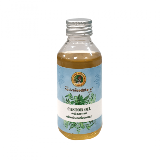 Native Food Pure Castor Oil, 100 ml
