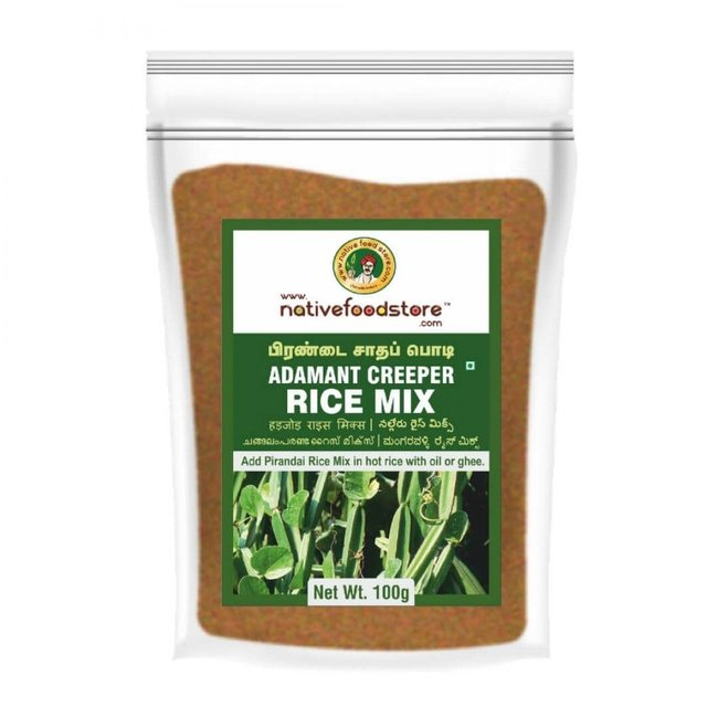 Native Food Adamant Creeper Rice Mix (Pirandai), 100 gr