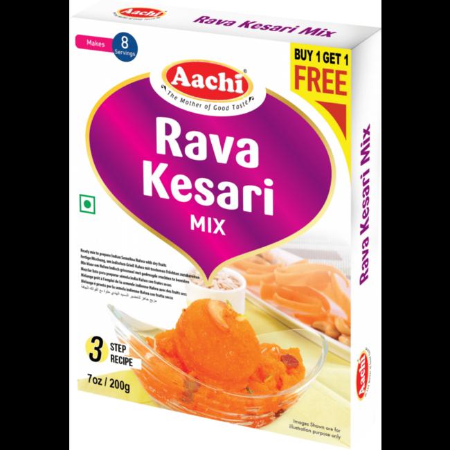 Aachi Masala Rava Kesari Mix, 200 gr (Buy1-Get1 Free)