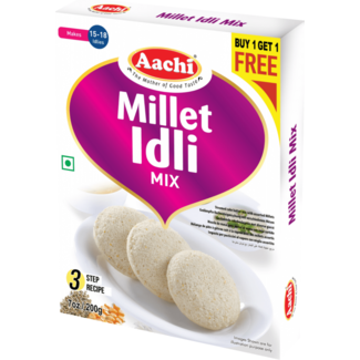 Aachi Masala Aachi Millet Idli Mix, 200 gr (Buy1-Get1Free)