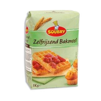 Soubry Zelfrijzend bakmeel, 1 kg