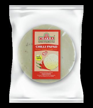 Chakra Chilly Papad (papadums)