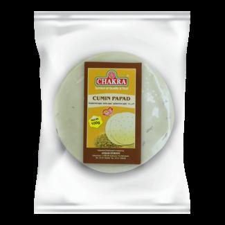 Chakra Cumin Papad, 100 gr