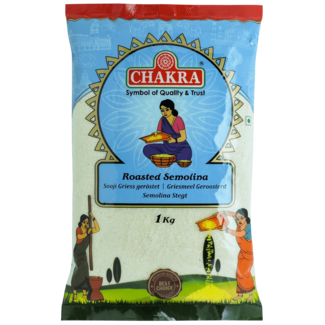 Chakra Geroosterd Semolina (griesmeel), 1 kg