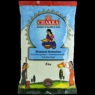 Chakra Roasted Semolina (griesmeel), 1 kg
