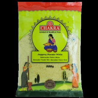 Chakra Jaggery Powder White (suiker), 500 gr