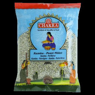 Chakra Kambu Pearl Millet (parelgierst), 500 gr