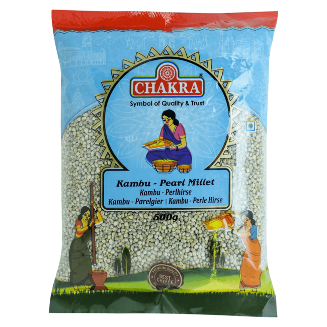 Chakra Kambu - Pearl Millet, 500 gr