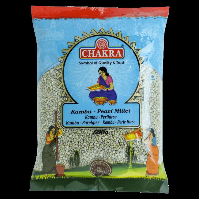Chakra Kambu - Pearl Millet (parelgierst), 500 gr