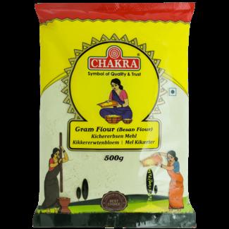 Chakra Gram Flour (kikkererwten meel), 500 gr