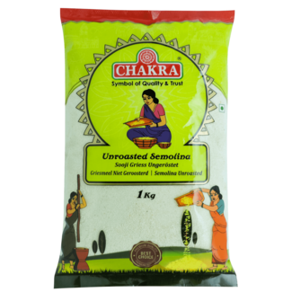 Chakra Ongeroosterd Semolina (griesmeel),1 kg