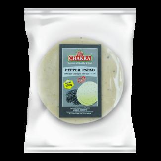 Chakra Pepper Papad (papadums), 100 gr