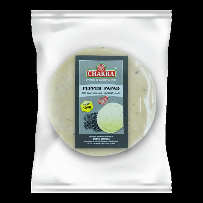 Chakra Pepper Papad (papadums)