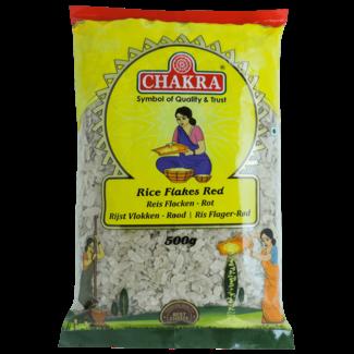 Chakra Rice Flakes Red Medium, 500 gr