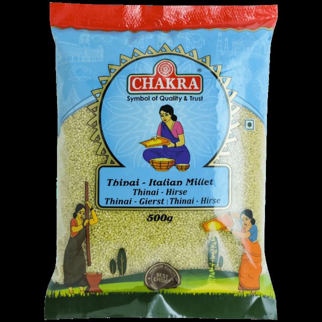 Chakra Italian Millet - Thinai, 500 gr