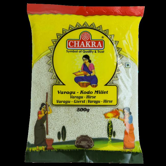 Chakra Varagu Kodo Millet (Gierst), 500 gr