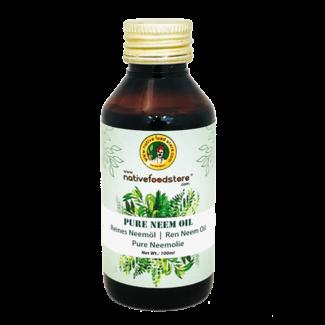 Native Food Pure Neem Oil (Neemolie), 100 ml
