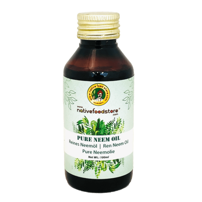 Native Food Pure Neem Oil, 100 ml
