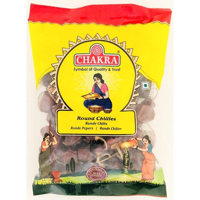 Chakra Round Chillies (ronde pepers)