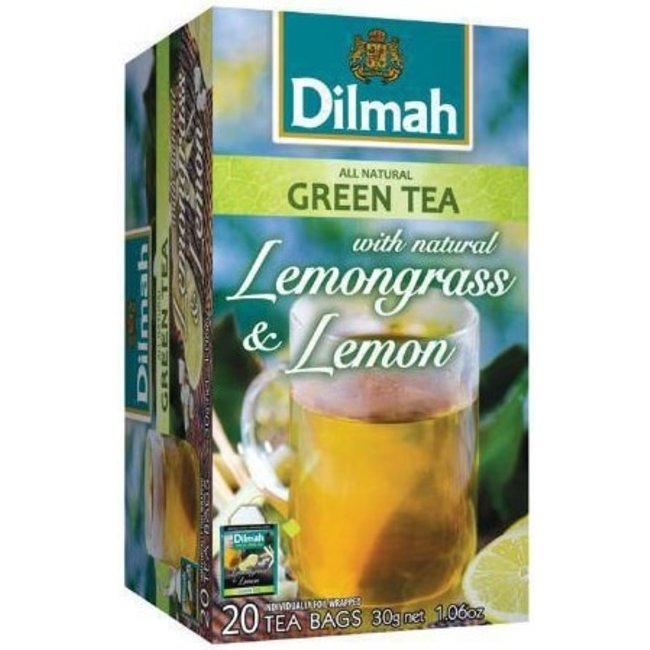 Dilmah Natuurlijke Groene Thee met citroengras