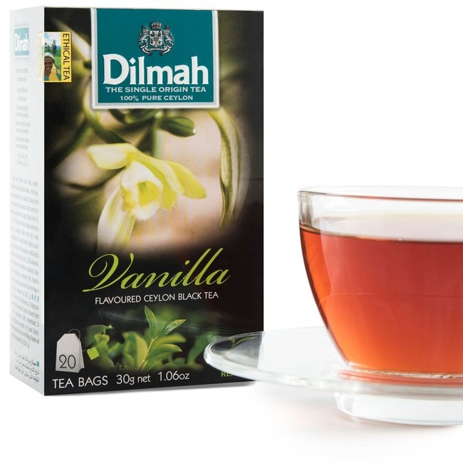 Dilmah Vanille Zwarte Ceylon Thee