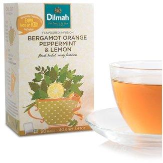 Dilmah Bergamot Orange Peppermint and Lemon Tea
