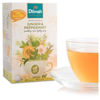 Dilmah Ginger and Peppermint Infusion Tea
