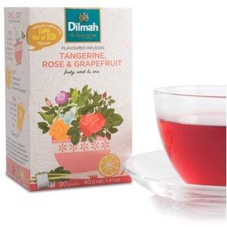 Dilmah Infusie Thee met Mandarijn Rozen en Grapefruit