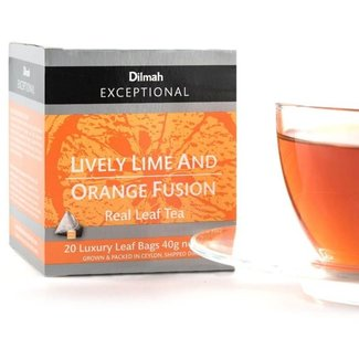 Dilmah Lively Lime And Orange Fusion Tea