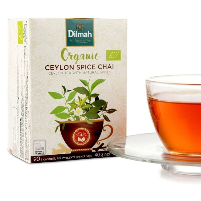 Dilmah Ceylon Spice Chai Tea