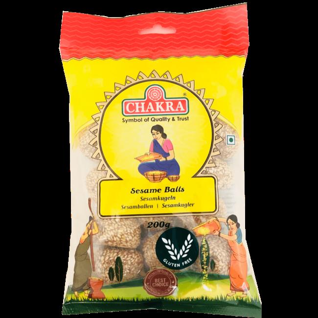 Chakra Sesame Balls (sesamballen)