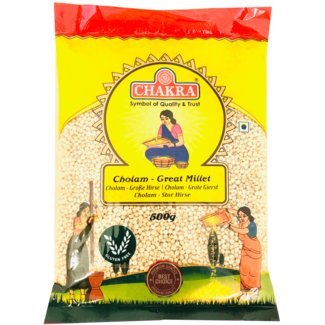 Chakra Cholam - Great Millet (gierst), 500 gr