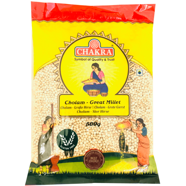 Chakra Cholam Great Millet (gierst), 500 gr