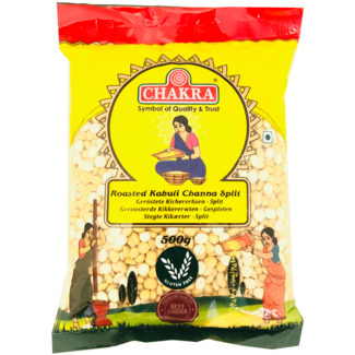 Chakra Roasted Kabuli Channa Split, 500 gr
