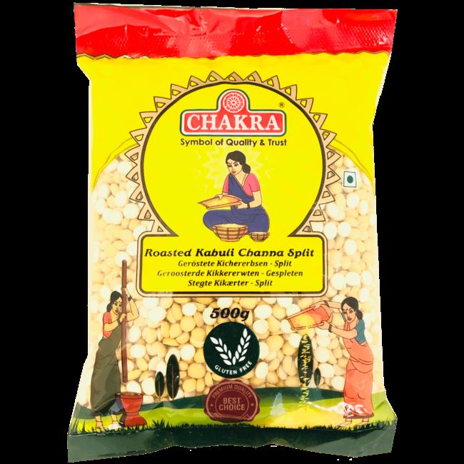 Chakra Roasted Kabuli Channa Split, 500 gr