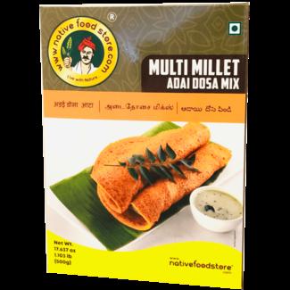 Native Food Multi Millet Adai Dosa Mix - 500 gr