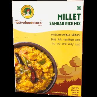 Native Food Millet Sambar Rice Mix (Sadham), 500 gr