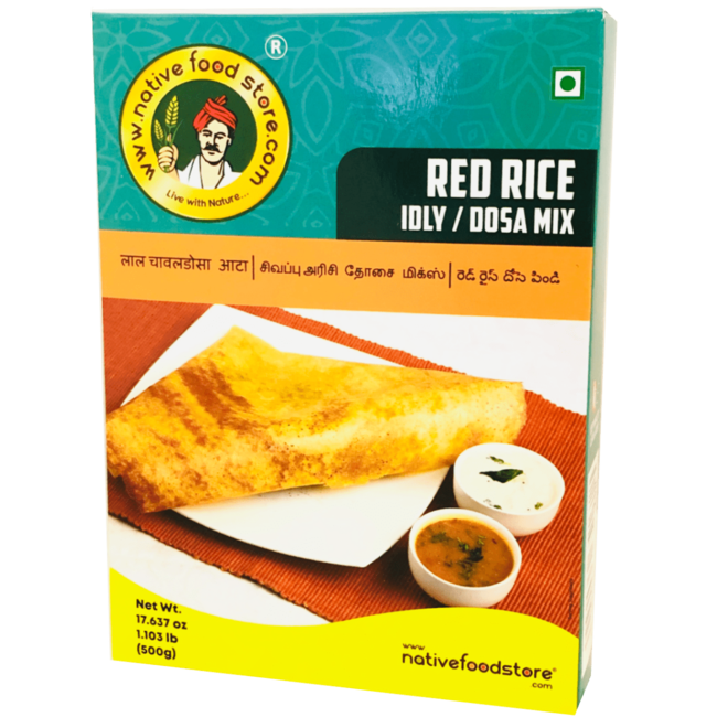 Native Food Red Rice Idly / Dosa Mix - 500 gr