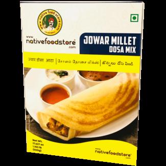 Native Food Jowar Millet Dosa Mix - 500 gr (Cholam)