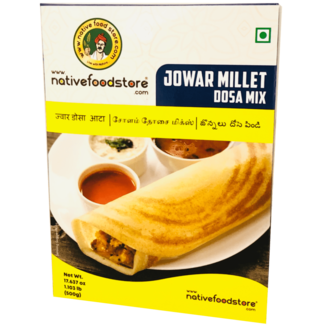 Native Food Jowar Millet Dosa Mix, 500 gr