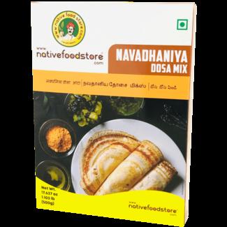 Native Food Navadhaniya Dosa Mix (Navadhanyam), 500 gr