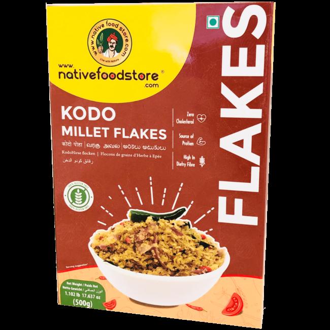 Native Food Kodo Millet Flakes (Ontbijtvlokken)