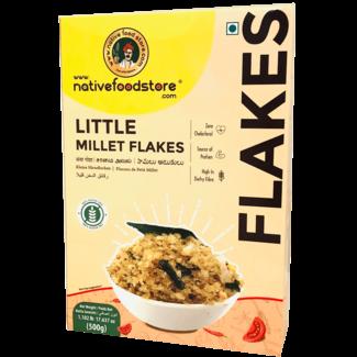 Native Food Little Millet Flakes (Ontbijtvlokken)