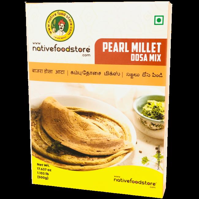 Native Food Pearl Millet Dosa Mix - 500 gr (Kambu)