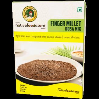 Native Food Finger Millet Dosa Mix (Ragi), 500 gr