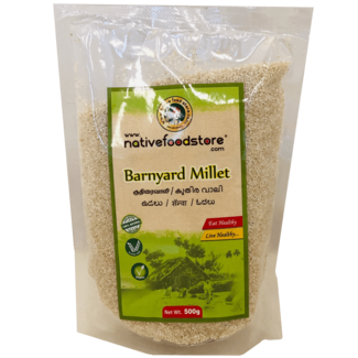 Native Food Barnyard Millet / Kuthiraivali, 500 gr