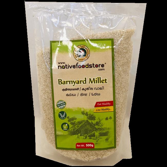 Native Food Barnyard Millet / Kuthiraivali, 500 gr